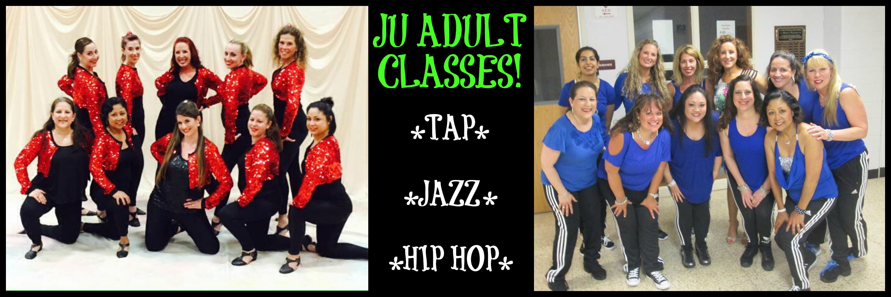 Dance classes for adult beginners